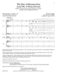 The Day of Resurrection (Full Score)