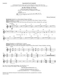 At the Name of Jesus (Instrumental Parts)