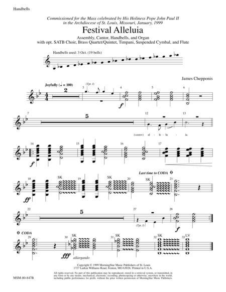 Festival Alleluia (Instrumental Parts)