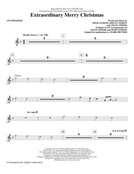 Extraordinary Merry Christmas - Synthesizer