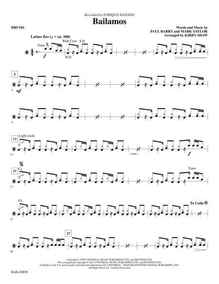 Bailamos - Drums