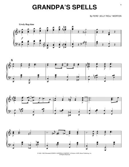 Download Grandpas Spells Sheet Music By Jelly Roll Morton Sheet