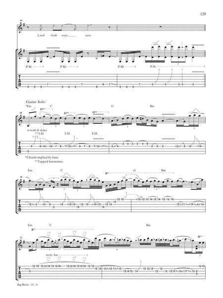 Preview Big River By Van Halen Ax00 Ps 0013582 Sheet Music Plus
