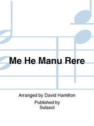 Me He Manu Rere