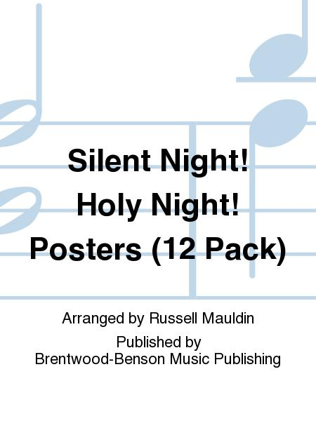 Silent Night! Holy Night! Posters (12 Pack)