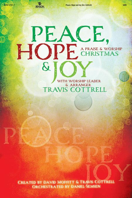 Peace, Hope and Joy (Choral Book)
