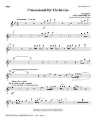 Processional For Christmas - Flute