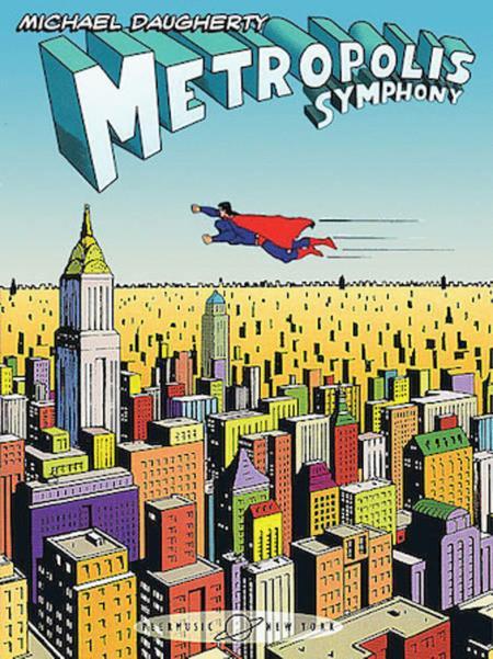 Metropolis Symphony - Complete Score Set (5 Scores)