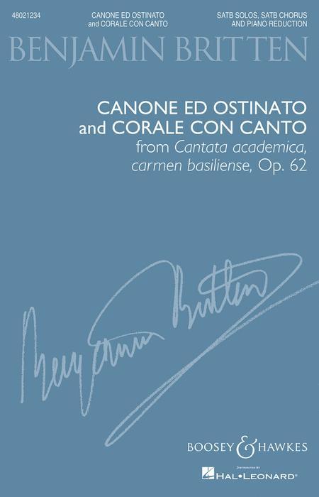 Canone ed Ostinato and Corale con Canto