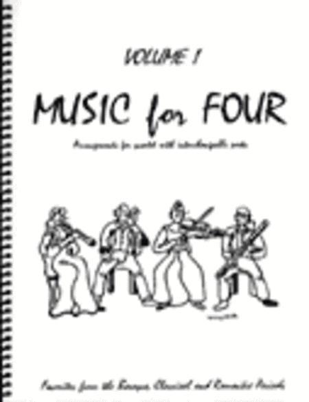 Music for Four, Volume 1, Set of 4 Parts (Wind Quartet)
