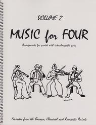 Music for Four, Volume 2, Set of 4 Parts (String Quartet)