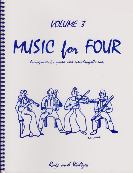 Music for Four, Volume 3, Set of 4 Parts (String Quartet)