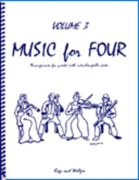 Music for Four, Volume 3, Set of 5 Parts (Piano Quintet - String Quartet plus Piano))