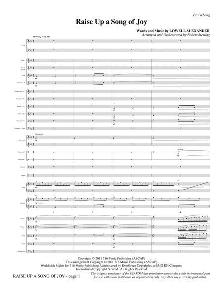 Raise Up A Song Of Joy - Full Score
