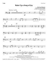 Raise Up A Song Of Joy - Cello