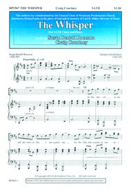 The whisper sheet music by craig courtney sheet music plus click to enlarge stopboris Images