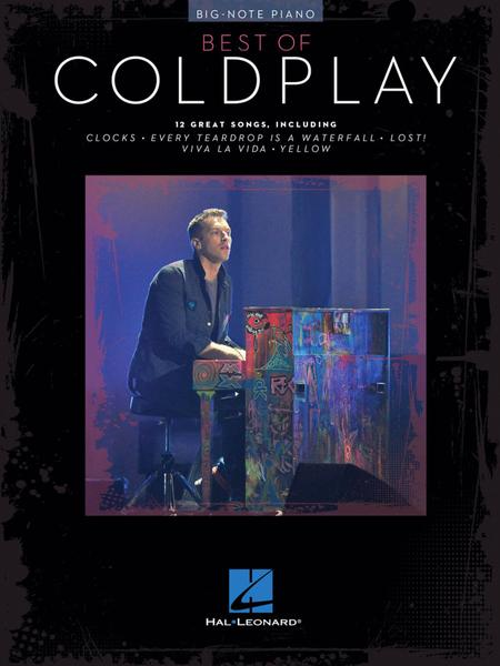 Best of Coldplay for Big-Note Piano