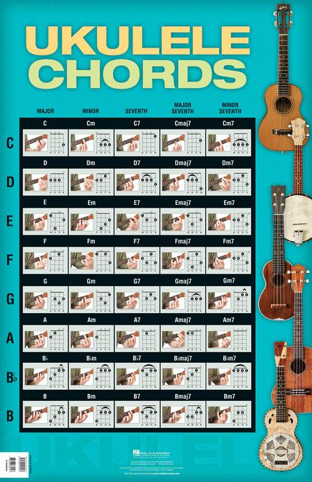 Ukulele Chords Sheet Music - Sheet Music Plus
