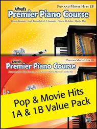 Premier Piano Course, Pop and Movie Hits 1A & 1B 2012 (Value Pack)