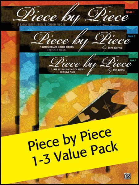 Piece by Piece Books 1-3 (Value Pack)