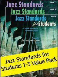 Jazz Standards for Students Books 1-3 (Value Pack)