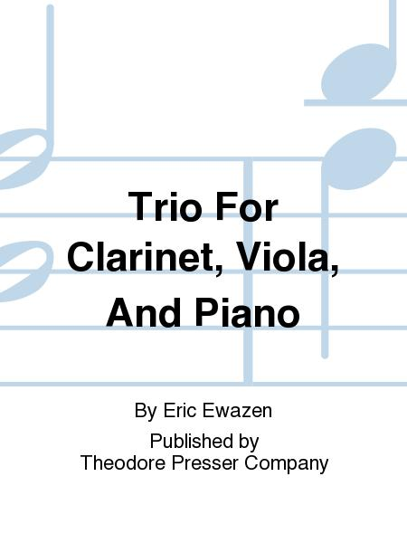 Trio for Clarinet, Viola, and Piano
