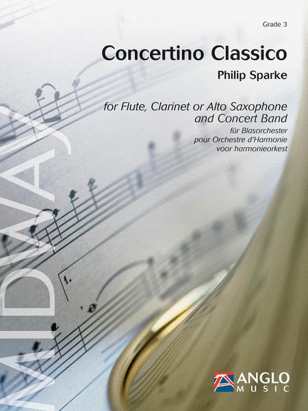 Concertino Classico for Flute and Concert Band