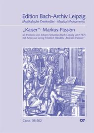 St. Mark Passion (Markus-Passion)