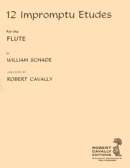 12 Impromptu Etudes for Flute