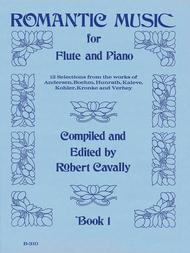 Romantic Music for Flute - Book 1