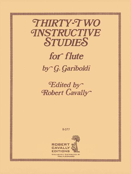 32 Instructive Studies for Flute