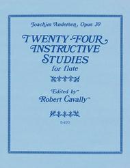 24 Instructive Studies for Flute, Op. 30