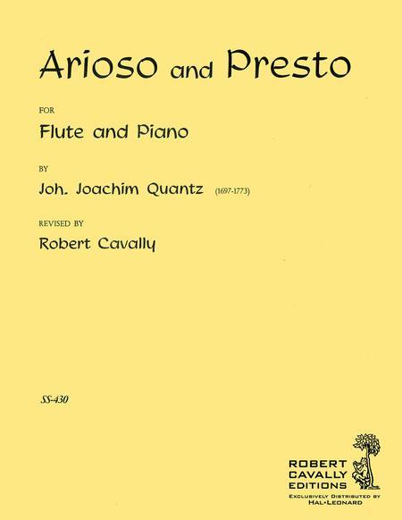 Arioso and Presto