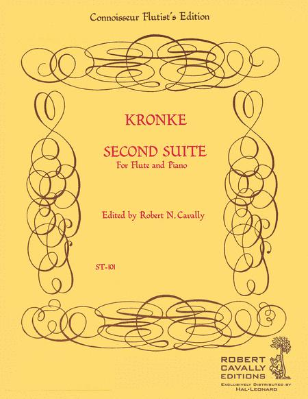 Second Suite for Flute and Piano