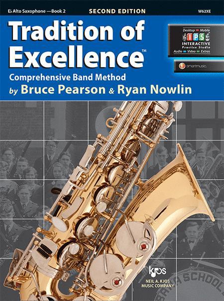 Tradition of Excellence Book 2 - Eb Alto Saxophone