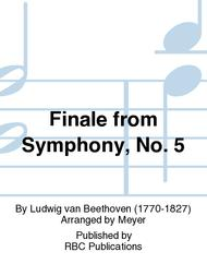 Finale from Symphony, No. 5