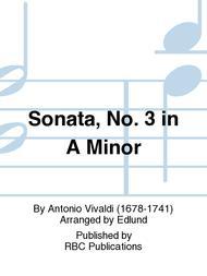 Sonata, No. 3 in A Minor