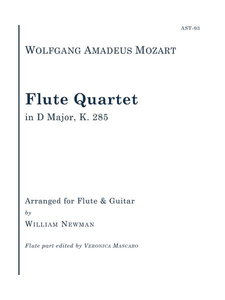 Flute Quartet in D Major, K. 285