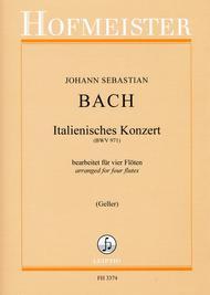 Italienisches Konzert, BWV 971