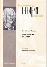 12 Opernarien-Tenor