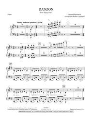 Danzon Dl - Piano