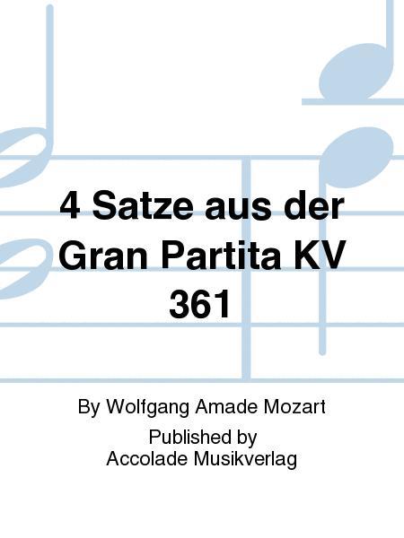 4 Satze aus der Gran Partita KV 361