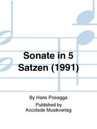 Sonate in 5 Satzen (1991)