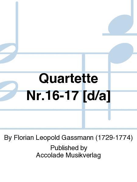 Quartette Nr.16-17 [d/a]