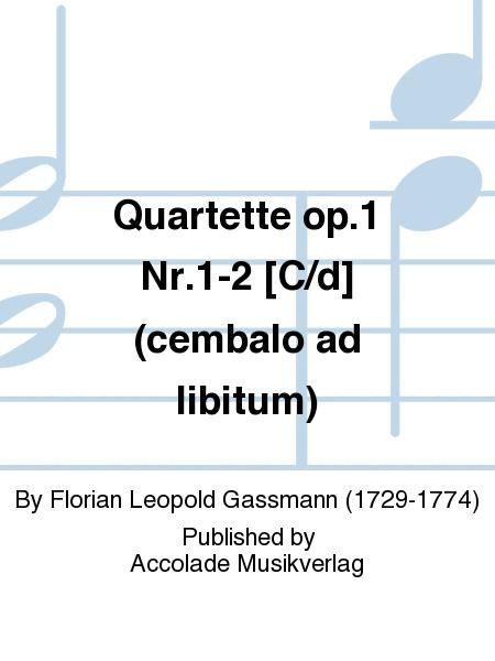 Quartette op.1 Nr.1-2 [C/d] (cembalo ad libitum)