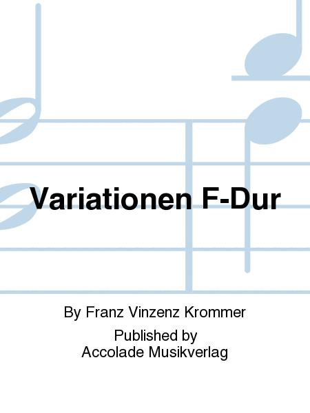 Variationen F-Dur