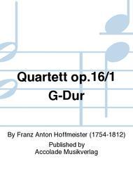 Quartett op.16/1 G-Dur