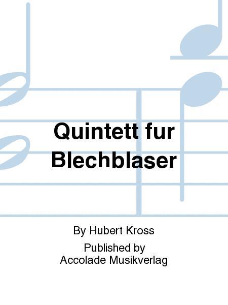 Quintett fur Blechblaser