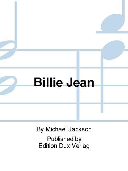 Billie Jean Sheet Music By Michael Jackson Sheet Music Plus