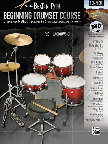 On the Beaten Path -- Beginning Drumset Course, Complete